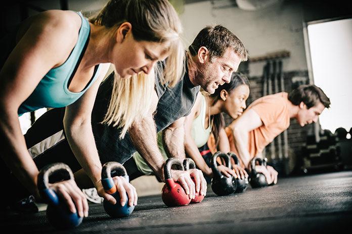 Trening z własnym ciężarem ciała